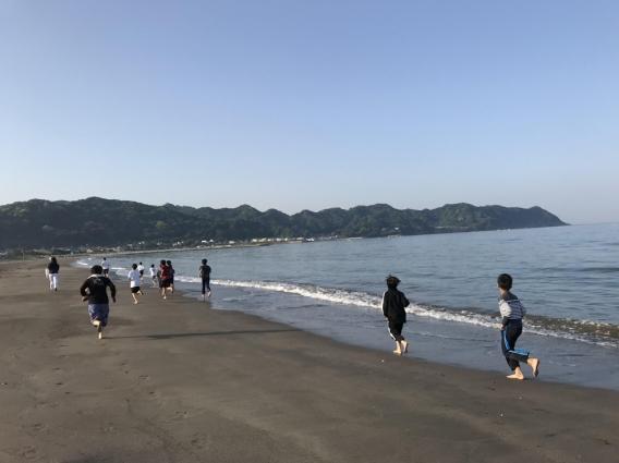 2018春合宿@岩井海岸、写真UP!